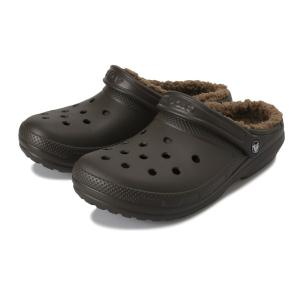 【crocs】 クロックス classic lined clog クラシックラインドクロッグ 203591-0EX espresso/walnut abc-martnet