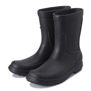 【crocs】 クロックス allcast rain boot men オールキャスト レイン ブーツ 204862-060 black/black|abc-martnet
