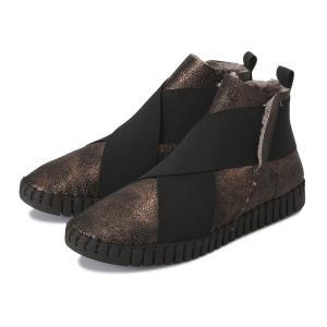 レディース 【SKA】 スカ ブーツ CROSS GORE BOOTS OSO クロスゴアブーツ BRONZO abc-martnet