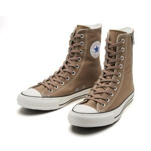 ブーツテイストな履きこなしが可能なSHIN-HIカットのオールスター。 SHIN-HIカットと生成り...