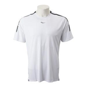 【SAUCONYウェア】M UV LITE SHORT SLEEVE サッカニー メンズTシャツ SAM800179-WH 19SP WHITE|abc-martnet