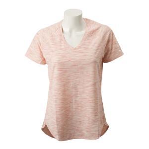 【SAUCONYウェア】W GAIT SHORT SLEEVE サッカニー ウィメンズTシャツ SAW800091-SA 19SP SALMON ROSE|abc-martnet