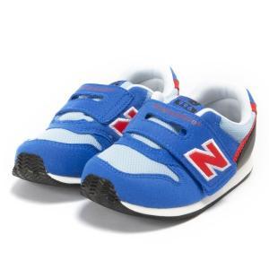 ベビー 【NEW BALANCE】 ニューバランス IV996 (12-165) 19SS BLUE/RED(BLR)|abc-martnet