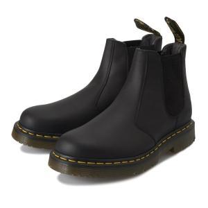 【AIRWAIR】 ドクターマーチン 2976 SNOWPLOW CHELSEA BOOT スノープロー チェルシー ブーツ 24040001 BLACK|abc-martnet