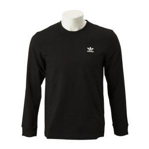 【ADIDAS ウェア】 アディダスオリジナルス M AC WAPPEN LS TEE ワッペン ロングスリーブ Tシャツ DX4209 BLK|abc-martnet