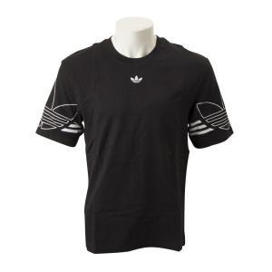 【ADIDAS ウェア】 アディダスオリジナルス M OUTLINE TEE アウトライン Tシャツ DU8145 BLK|abc-martnet