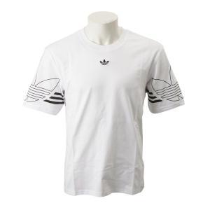 【ADIDAS ウェア】 アディダスオリジナルス M OUTLINE TEE アウトライン Tシャツ DU8536 WHT abc-martnet