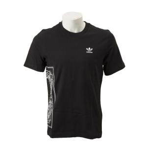 【ADIDAS ウェア】 アディダスオリジナルス M BANDANA TEE バンダナTシャツ DV2042 BLK|abc-martnet