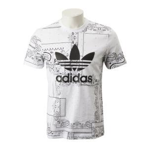 【ADIDAS ウェア】 アディダスオリジナルス M BANDANA TEE バンダナ Tシャツ DX4202 WHT abc-martnet