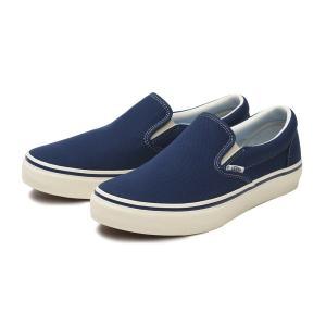 "【VANS】""COMFORT"" SLIP ON ヴァンズ スリッポン V98CF CLASSICS 19SP BLUE|abc-martnet"