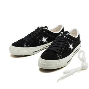 【CONVERSE】 コンバース ONE STAR J SUEDE ワンスター J スエード 32356911 BLACK|abc-martnet