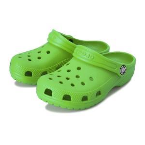 キッズ 【crocs】 クロックス Classic Clog K (14-20) クラシック クロッグ 204536-3E8 Grass Green|abc-martnet