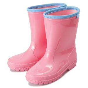キッズ 【HAWKINS】 ホーキンス レインブーツ(長靴) RAIN BOOTS (15-21) HK92020 PINK|abc-martnet