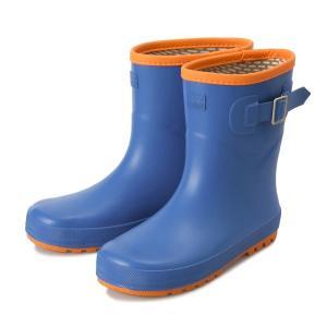 キッズ 【HAWKINS】 ホーキンス レインブーツ(長靴) HK92025 (19-23) HK92025 BLUE/ORANGE|abc-martnet