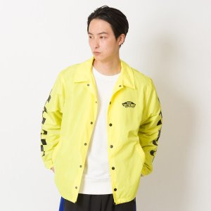 【VANS】Neon Color Coach Jacket ヴァンズ ネオンカラーコーチジャケット VA19SS-MJ04 19SP N-YELLOW|abc-martnet
