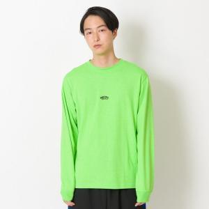 【VANSウェア】SK8OTW Neon Color L/S T-Shirt ヴァンズ ロングスリーブTシャツ VA19SS-MT08 19SP N-GREEN|abc-martnet