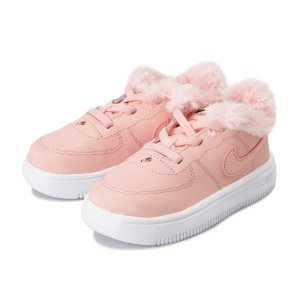 ナイキ スニーカー エアフォース ベビー NIKE FORCE 1 '18 VDAY (TD) 12-16 AV0751-600 19SP 600BLCRL/BLHCRL|abc-martnet