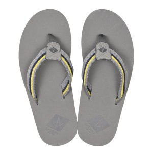 【SPERRY TOPSIDER】 スペリートップサイダー TOPSAIL THONG トップセイル トング STS19150 GREY/YELLOW|abc-martnet