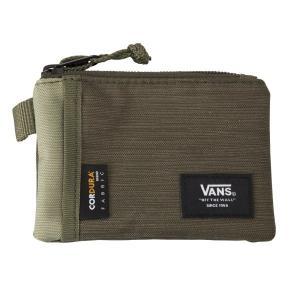 【VANSウェア】VANS POUCH WALLET ヴァンズ ウォレット・財布 VN0A3HZXTD8 19SP OIL GREEN|abc-martnet