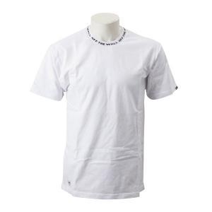 """ネック部分に""""OFF THE WALL""""のロゴをデザインした半袖Tシャツ。   素材=綿100%  ..."""