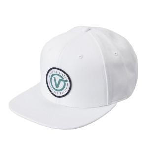 【VANSウェア】OG CIRCLE V SNAPBACK ヴァンズ キャップ VN0A3I1FWHT 19SP WHITE|abc-martnet