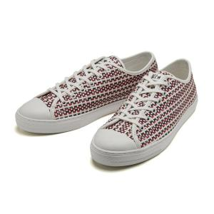 【CONVERSE】 コンバース ALL STAR COUPE WOVEN OX オールスター クップ ウーブン オックス 31300020 WHITE/NAVY/RED|abc-martnet