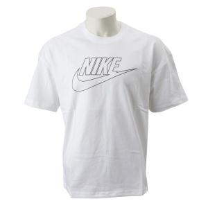 【NIKE ウェア】 ナイキウェア Mフーチュラアイコン オーバーサイズ Tシャツ BQ5560-100 100WHITE/D GRE abc-martnet