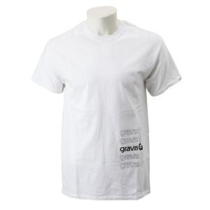 【gravis】Gravis Abstract BOXLOGO S/S グラビス ショートスリーブTシャツ GR19SS-MT05 WHITE|abc-martnet