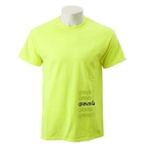 【gravis】Gravis Abstract BOXLOGO S/S グラビス ショートスリーブTシャツ GR19SS-MT05 N.YELLOW|abc-martnet