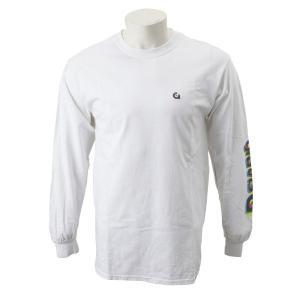 【gravis】Gravis LOGO L/S TEE グラビス ロングスリーブTシャツ GR19SS-MT06 WHITE|abc-martnet