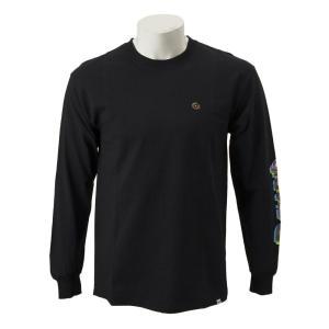 【gravis】Gravis LOGO L/S TEE グラビス ロングスリーブTシャツ GR19SS-MT06 BLACK|abc-martnet