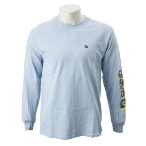 【gravis】Gravis LOGO L/S TEE グラビス ロングスリーブTシャツ GR19SS-MT06 L.BLUE|abc-martnet