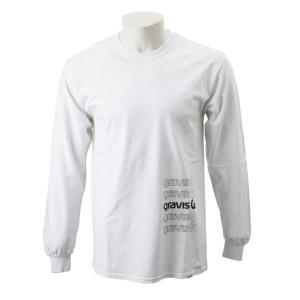 【gravis】Gravis Abstract BOXLOGO L/S グラビス ロングスリーブTシャツ GR19SS-MT07 WHITE|abc-martnet