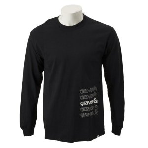 【gravis】Gravis Abstract BOXLOGO L/S グラビス ロングスリーブTシャツ GR19SS-MT07 BLACK|abc-martnet