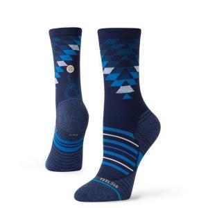 STANCE SOCKS スタンス ソックス SLITHERING CREW ソックス W448A20SLI#BLU BLUE ABC-MART PayPayモール店