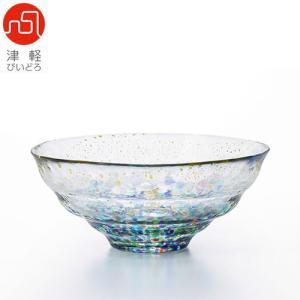 津軽びいどろ まつり金彩ガラス碗 F-71892 和食器 鉢 和食器|abc-wine