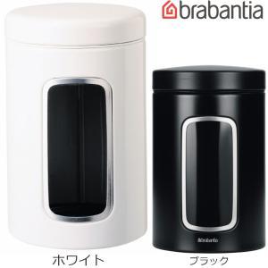 ブラバンシア[キャニスター窓付 1.4L](White、Black、ホワイト、白、ブラック、黒)<491009、333521/ ホワイト/ブラック< abc-wine