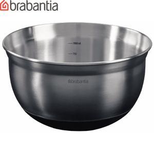 ブラバンシア[ミキシングボウル 1L]<363825/<Mixing Bowl/ミキシングボウル/ステンレス/滑り止め付きボール/安定底/目盛付き/|abc-wine