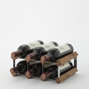 ワインラック ファンヴィーノ トラディショナルワインラック 6本用 8708|abc-wine