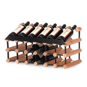ワインラック ボルデックス ディスプレイラック18本用 RB018DR|abc-wine