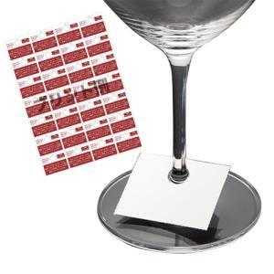 ワインセラー グラスタグ 小 100枚入 WY028PP メンテナンス|abc-wine