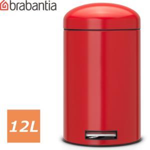 ブラバンシア[レトロビン [モーションコントロール] 12L パッションレッド](Passion Red、レッド、赤)<483783/ゴミ箱 12リ abc-wine