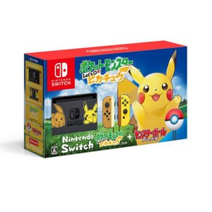 新品 Nintendo Switch ポケットモンスター Let's Go! ピカチュウセット【送料無料(沖縄・離島を除く)・代引無料】|abcdenki