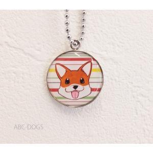 メタルチャーム・アップ(織田千代+ABC-DOGS) コーギー茶白2|abcdogs