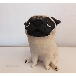ラージサイズ(カワセミ工房) パグフォン|abcdogs