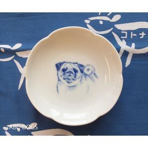 梅小皿(ABC-DOGS-tensh) パグ abcdogs