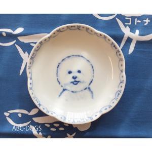 梅小皿(ABC-DOGS-tensh) ビションフリーゼ abcdogs