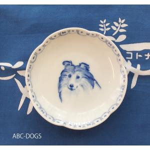 梅小皿(ABC-DOGS-tensh) シェルティ abcdogs