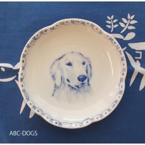 梅小皿(ABC-DOGS-tensh) ゴールデンレトリバー abcdogs