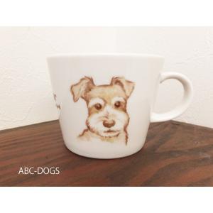 マグカップ(ABC-DOGS-tensh) シュナウザー|abcdogs